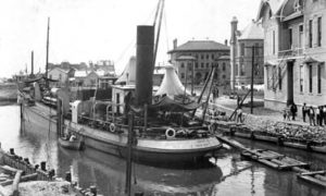 G-59262FF2-4 Holm Excavating Canal Near Sealy Hospital