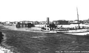 "G-59263FF2-7 ""HOLM"", IN GRADE RAISING CANAL, GALVESTON, TEX."