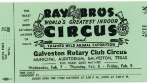 "Galveston's First ""Big Circus…in Years"""