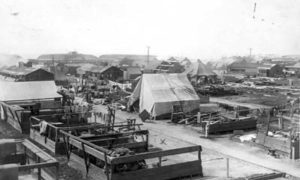 G-17713FF5.1-4 Tents and barracks at Fort Crockett