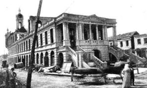 G-1771FF4.1-5 The City Hall, Galveston - Showing Damage Done by the Storm