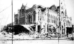 G-1771FF4.3-5 Ruins of Masonic Temple