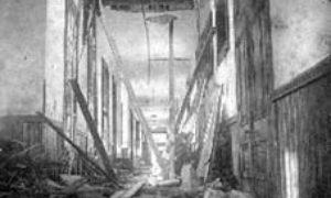 G-1771FF5.3-2 Part of wreck of Rosenberg School