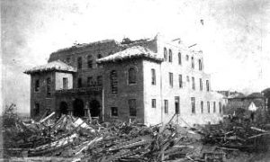 G-1771FF8.2-3 Ruins Breckenridge Hall