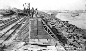 G-5925.2FF4-1 Showing the Construction of the Seawall