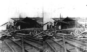 SC#194-25 House covered with debris