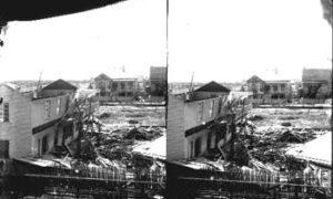SC#194-27 Damaged houses.