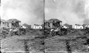 SC#194-28 Residential devastation.