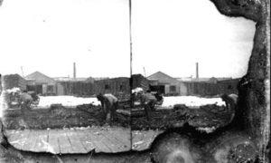 SC#194-47 Workmen clearing debris