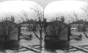 SC#79-19 The path of desolation, wraught by the great storm at Galveston September 8th 1900