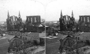 SC#79-9 A ruined City where 8,000 lives went out in the fury of one Night, Sept. 8, 1900, Galveston, Texas
