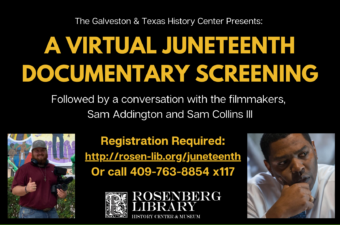 Virtual Juneteenth Documentary Screening