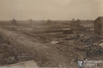 Photo of Galveston Ward 7 (35th & Ave. P looking south west) Those Who Fell: Part 3 of Profiles of Selected 1900 Storm Victims