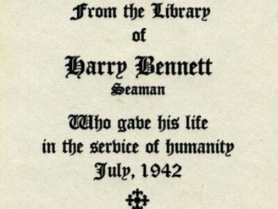 Rosenberg Library Remembers Harry Bennett