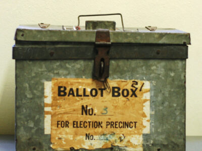 Vintage Ballot Boxes
