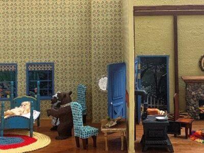 Goldilocks and the Three Bears Diorama
