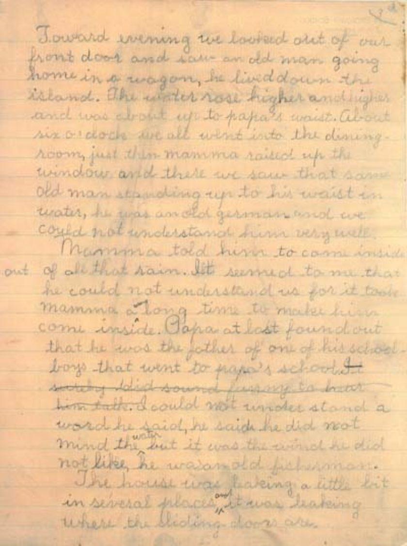 25-0586 Sarah Helen Littlejohn Papers