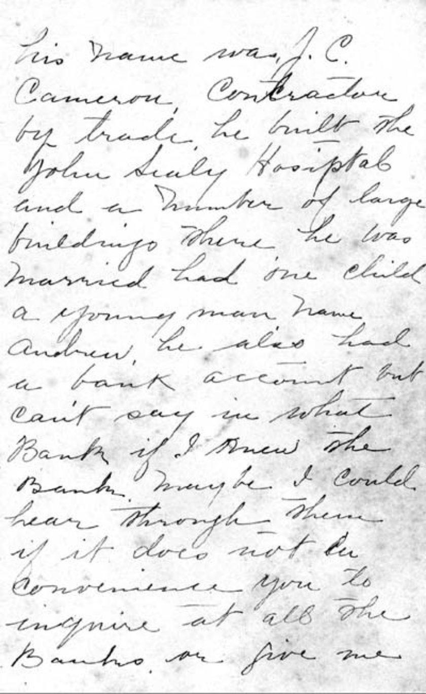 68-0144 Mrs. A. Nindi Papers