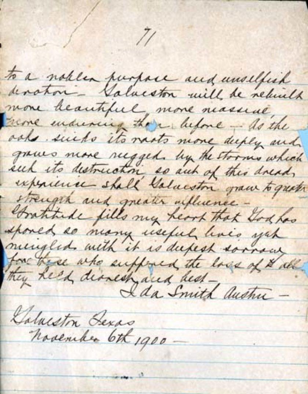 83-0017 Ida S. Austin Papers