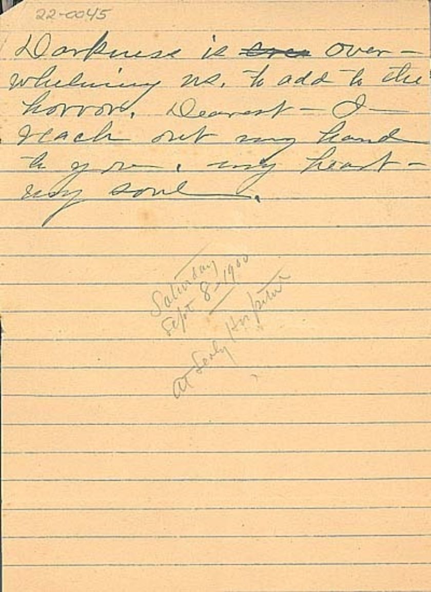22-0045 Anonymous Letter