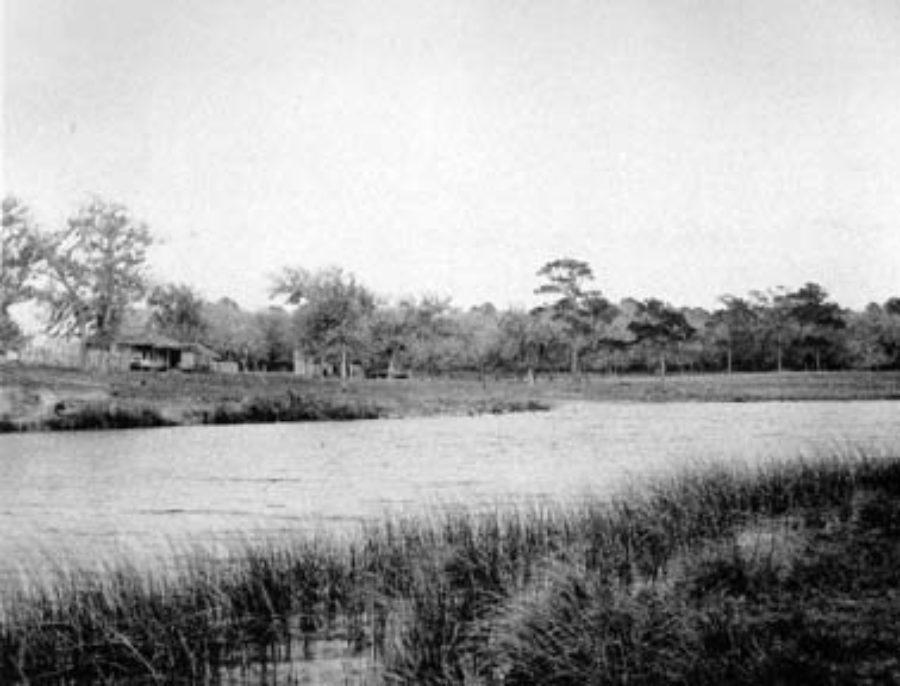 AW-57 Dickinson Bayou at the Dr. Haden homestead