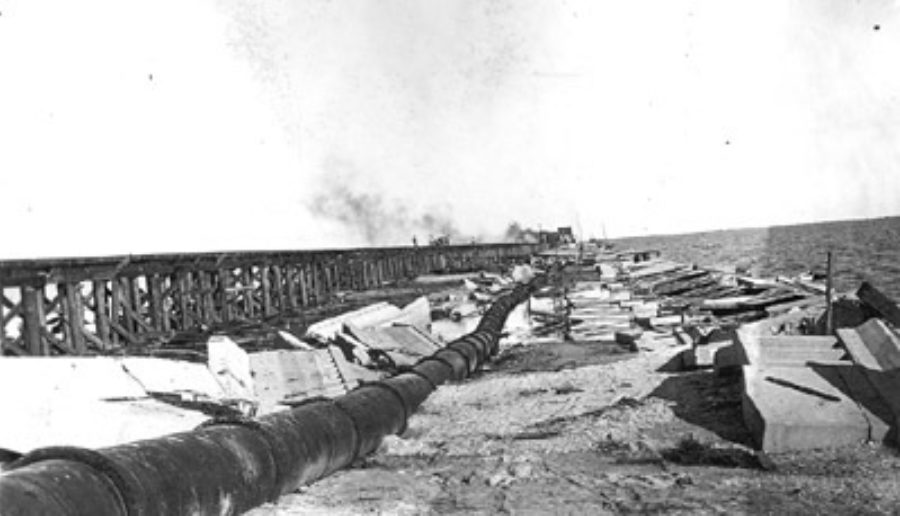 G-17713FF3.2-16 Construction of temporary trestle