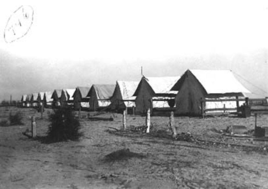 G-1771FF10.1-2 Refugee camp