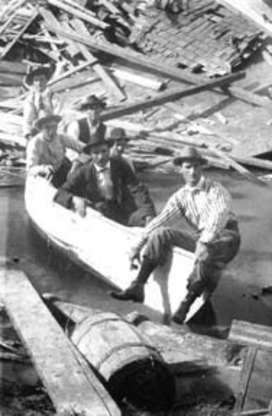 G-1771FF13.2-1 Boat & Crew used during the flood