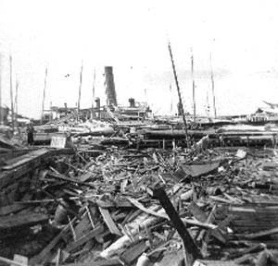 G-1771FF2.3-4 Wharf wreck