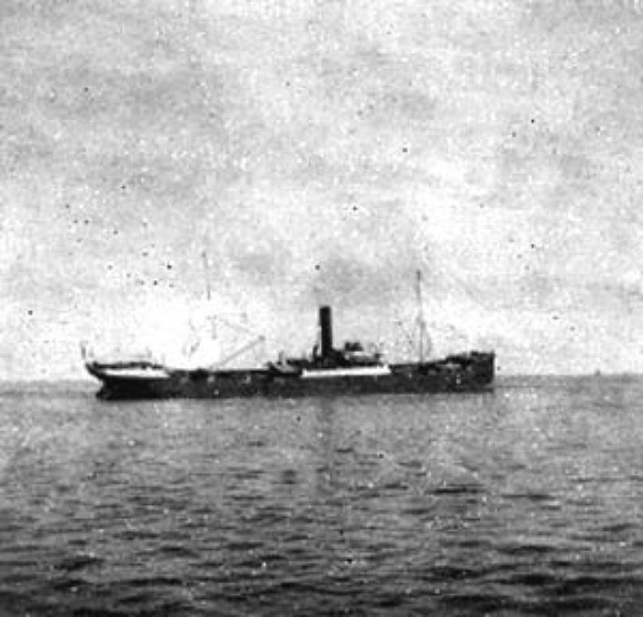 G-1771FF2.3-7 Galv. Bay.  Vessel stranded on the sand