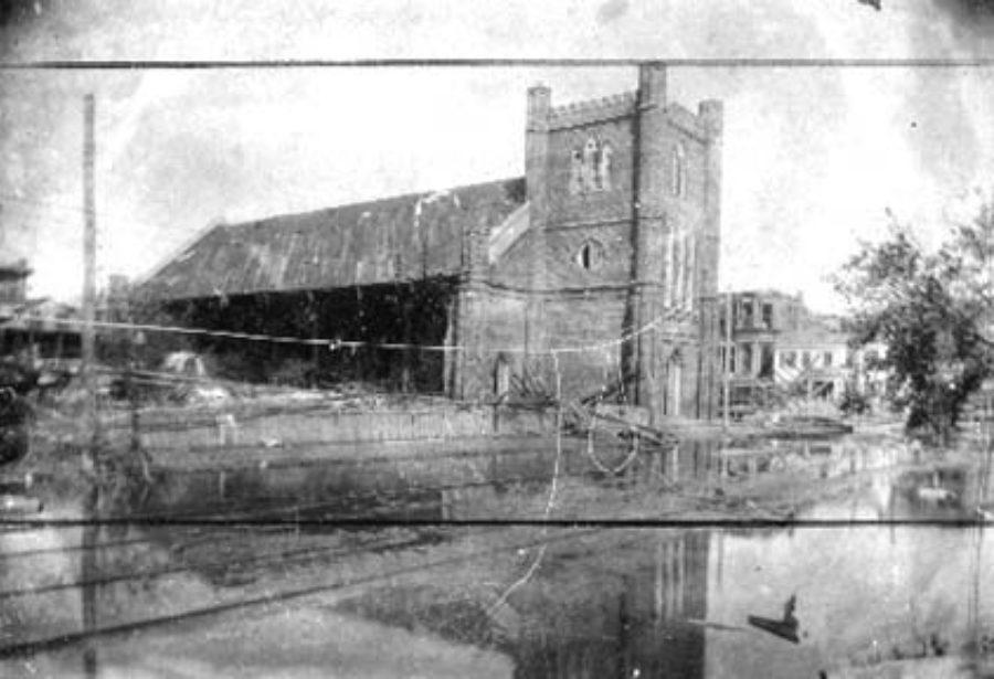 G-1771FF3.3-6 Ruins, Episcopal (Trinity) Church