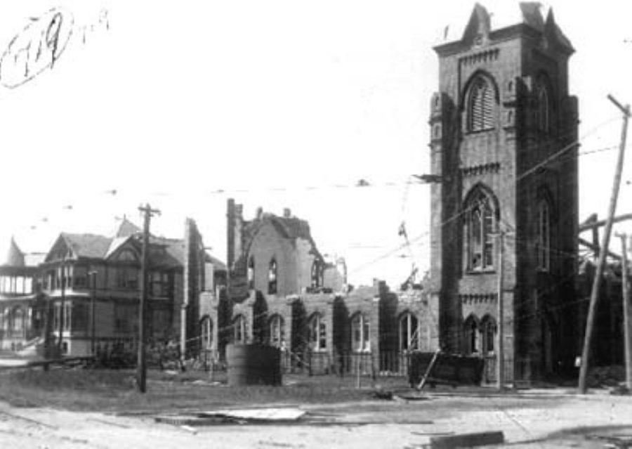 G-1771FF3.4-5 Ruins of St. John's Methodist Episcopal Church