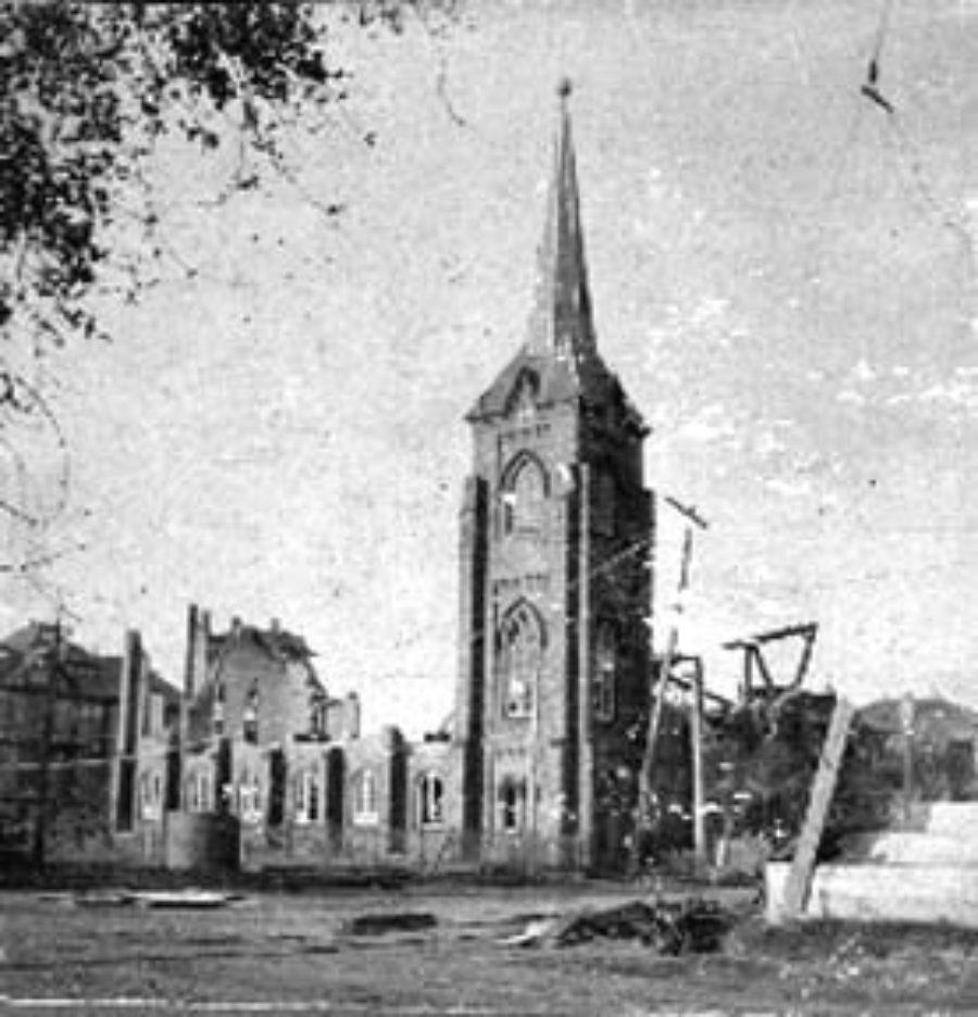 G-1771FF3.4-7 25 & Broad[wa]y.  St. Johns Methodist Church