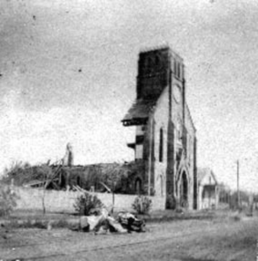 G-1771FF3.7-1 Ruins of unidentified church, possibly African American