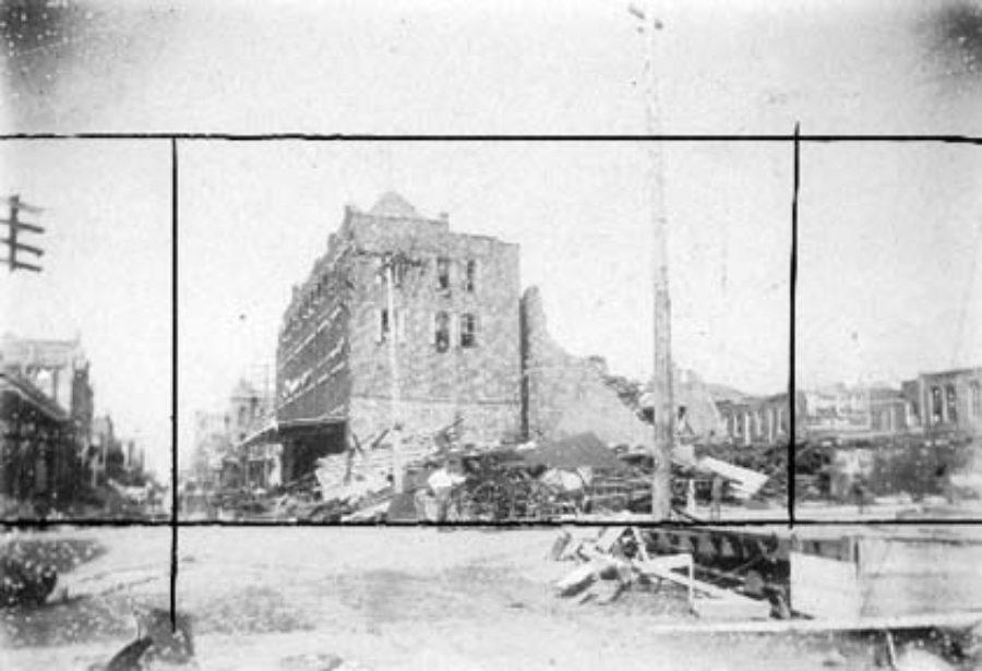 G-1771FF6.1-16 Ruins of Grand Opera House