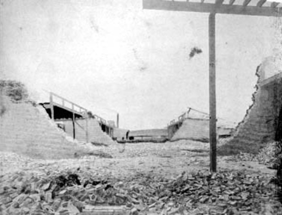G-1771FF6.4-12 Ruins of a Compress