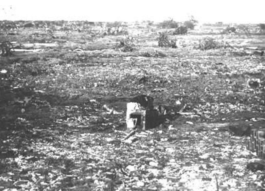 G-1771FF7.2-9 Area of total destruction