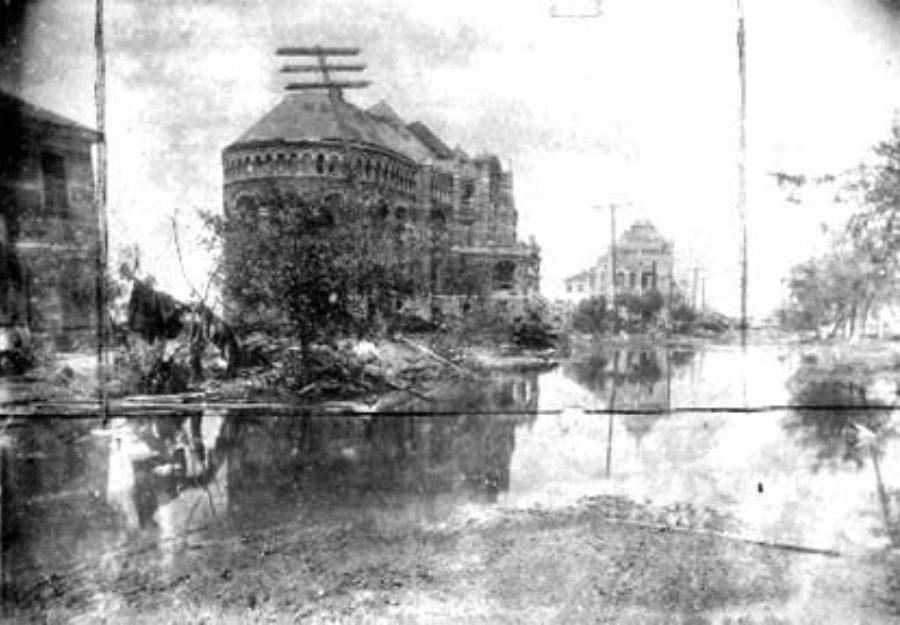 G-1771FF8.1-6 Ruins Galveston Medical College