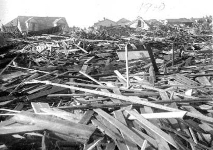 SC#110.1-13 Debris Ave M & 15th St.
