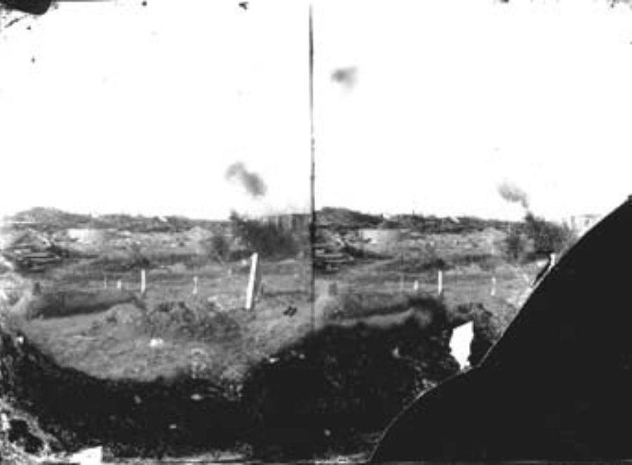 SC#194-10 Freshly dug graves