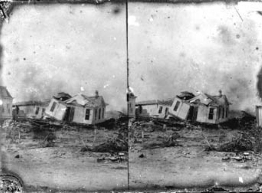 SC#194-20 Wrecked houses