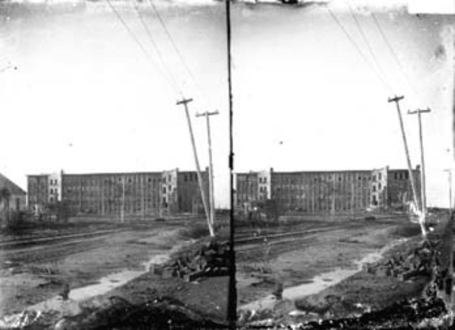 SC#194-5 Distant view of Galveston Cotton and Woolen Mills