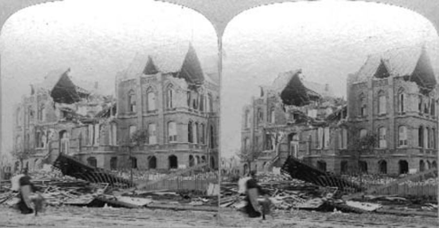 SC#79-4 Galveston Disaster.  Orphans' home.