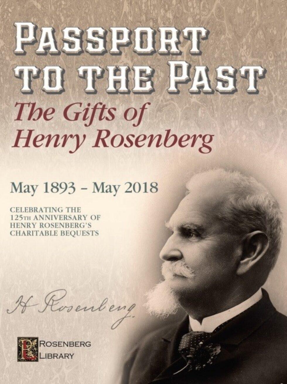 The Gifts of Henry Rosenberg