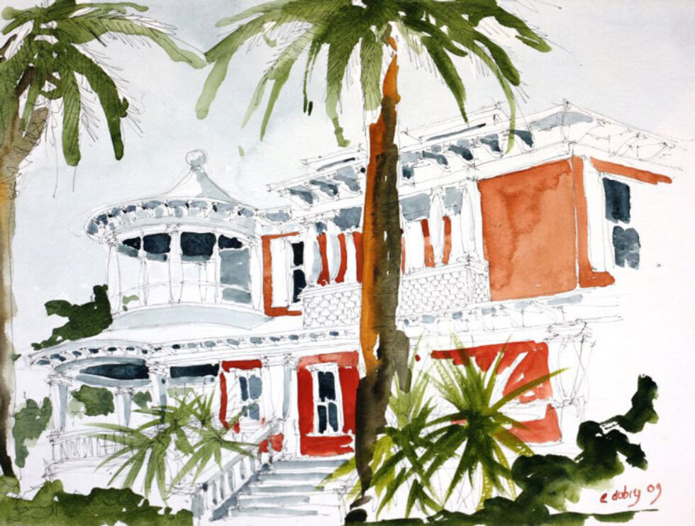 Island Art / Island Architecture: Paintings of Historic Galveston Homes