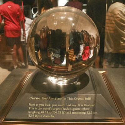 Early 20th Century Crystal Ball
