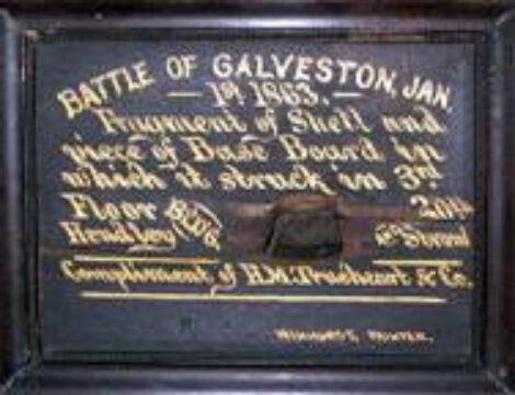 The Battle of Galveston