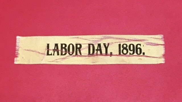Remembering Labor Day