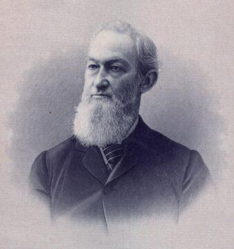 John H. Hutchings Presentation Silver