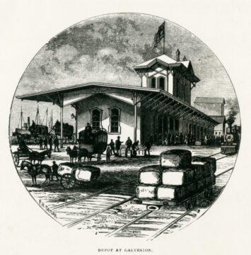 Galveston's Railroad Depots